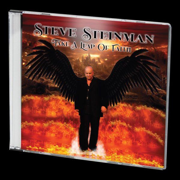 Album cover for Steve Steinman's new album, Take A Leap Of Faith